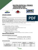 CARNAVAL PIRINEO ARAGONES 2008 AVION