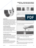 Submittal for Cast Iron Pipes