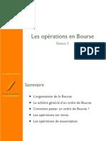 La Bourse- Séance 2