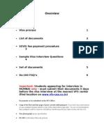 Visa Process F-1