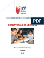 Estrategias de Lectura 2010 II