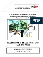 k to 12 Electrical Learning Module
