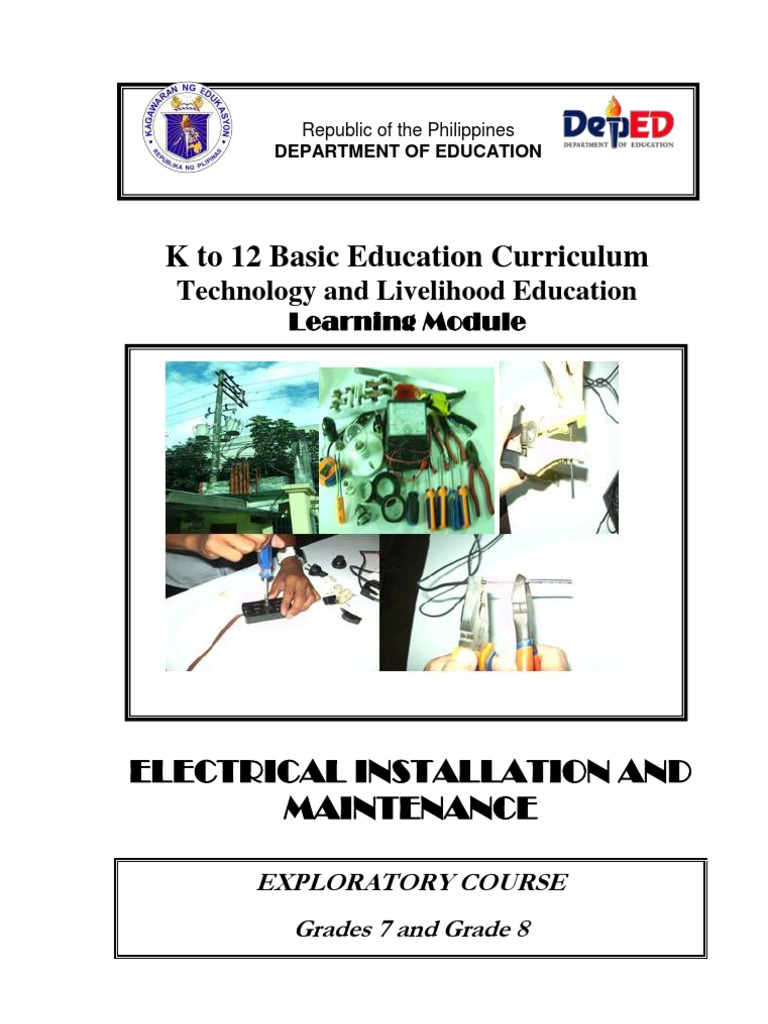 k to 12 Electrical Learning Module | Electrical Connector ...