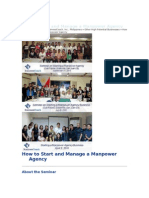 How to Start and Manage a Manpower Agency