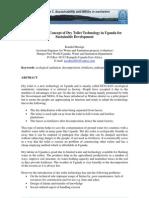 En Spreading the Concept of Dry Toilet Technology in Uganda 2006