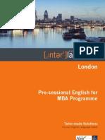 Interlanguage MBA A4 Brochure