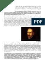 Biografía de Lope de Vega