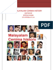 History of Malayalam Cinema