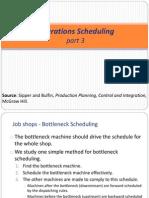 IE324 Lecture Week13 Scheduling III