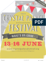 Crystal Palace Festival Whats on Guide