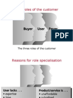 Three Roles of a Consumer & Value They Seek