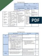Planificação da aula1