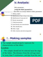 1.2 Fabric Analysis