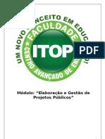 Apostila Elaboração e Gestão de Projetos Públicos