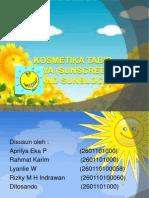 Kosmetika Tabir Surya (Sunscreen And