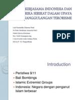 Kerjasama Indonesia Dan Amerika Serikat Dalam Upaya Penanggulangan