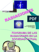 HUGO MARTIN ATOMICA CORDOBA PANORAMA GENERAL DE LAS RADIACIONES