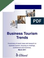 Business Tourism Trends - Scotland
