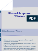 Sistemul de Operare Windows