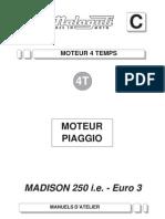 Moteur Du Piaggio Euro3