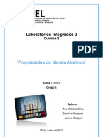 Relatorio_ Propriedadesdosmetaisalcalinos