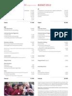 BSF Finance 2012