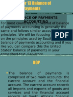 Chapter 13 Balance of Payments