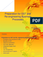GST - Re-Engineering Business Process 22-1-10-Dilip Save