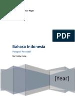Bahasa Indo Contoh Paragraf Persuasif