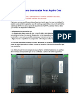 Manual Para Desmontar Acer Aspire One