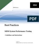 MDMS-PerformanceTesting