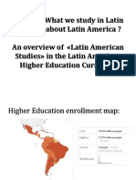 How and What We Study in Latin America[1]