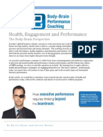 Health Engagement and Performance