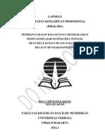 Laporan PKP Disusun Oleh Beta u.b.k Nim. 821445695 Pokjar Kedawung Sragen