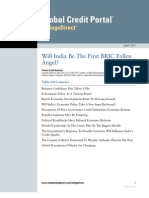 S&P-Report-Will India Be the First BRIC Fallen Angel_June2012