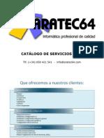 Catalogo de Servicios Aratec64