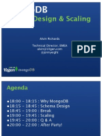 PMUG Schema Design and Scaling