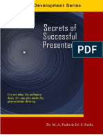 Secrets of Successful Presenters