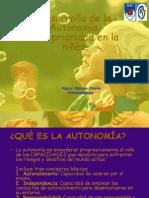 Desarrollo de La Autonomia