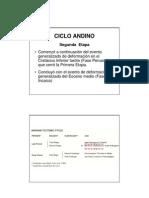 Segunda Etapa Ciclo Andino PDF