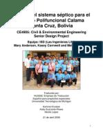 Camara Septica Colegio Calama