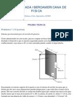 VIII OIbF 2003 Prueba Teorica