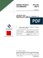 95213741 13 NTC ISO 5667 6 Calidad de Agua Muestreo Guia Para El Muestreo de Aguas de Rio