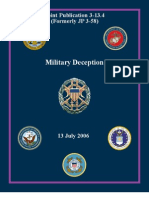 Military Deception and Pyschological Operations Manual