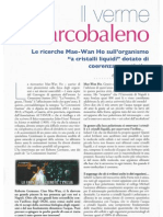 Scienza&Conoscenza n.40 Maggio 2012 Acqua Germano Mae Wan Ho