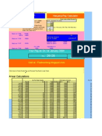 Calculator-hry Pay Scale