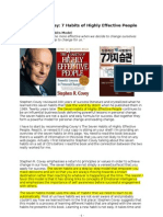 07 Stephen+Covey 7+Habits+of+Highly+Effective+People Summary