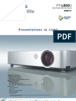 Panasonic Ptlb50u