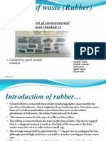 Best Out of Waste (Rubber)