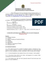 Proposta de Alteração da NR-24 (Texto da Consulta Pública)